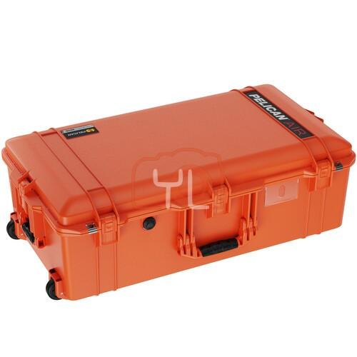 Pelican 1615 Air Wheeled Hard Case with Foam (Orange)