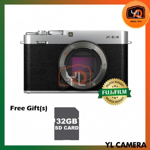 Fujifilm X-E4 - Silver (Free 32GB SD Card)