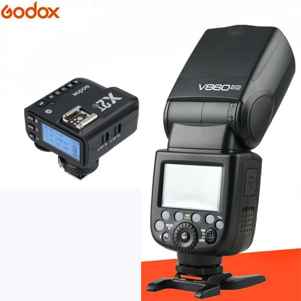 Godox VING V860IIF TTL Li-Ion Flash Kit for Fujifilm Cameras X2T-F Fujifilm Combo Set