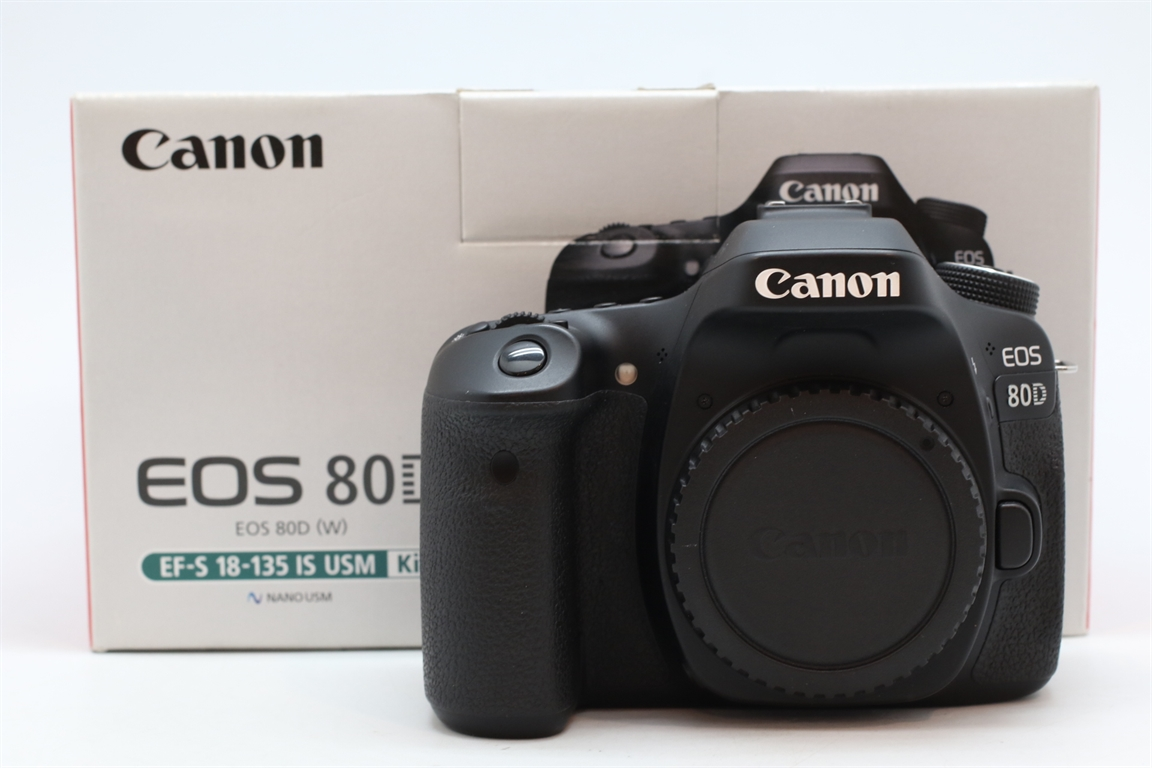[USED-PUDU] CANON EOS 80D CAMERA BODY 95%LIKE NEW CONDITION  SN:038021000308
