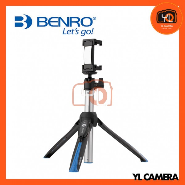 Benro BK15 Tabletop Tripod & Selfie Stick for Smartphones