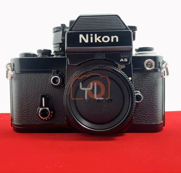 [USED-PJ33] Nikon F2 AS Film Camera (Black) , 85% Like New Condition (S/N:7921661)