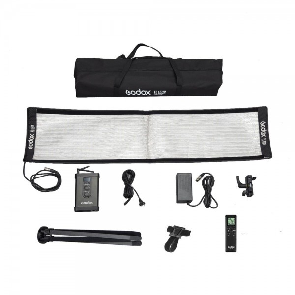 Godox FL150R Flexible LED Video Light 3300-5600K With FLSF30120 Softbox Set