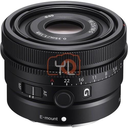Sony FE 50mm F2.5 G (SEL50F25G)