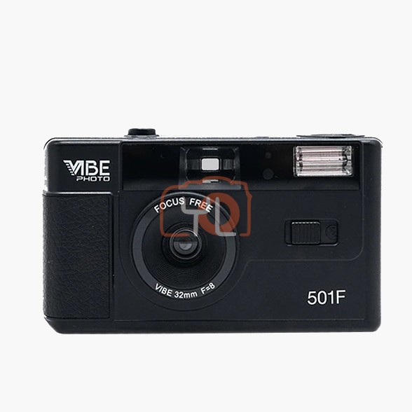 VIBE Photo 32mm Film Camera - Black