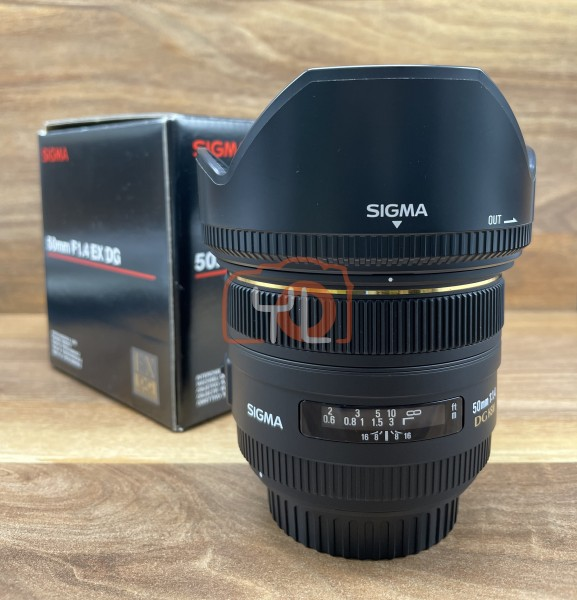 [USED @ YL LOW YAT]-Sigma 50mm F1.4 EX DG HSM For Canon Mount,98% Condition Like New,S/N:12511823