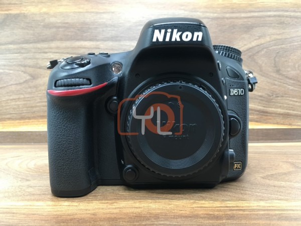 [USED @ YL LOW YAT]-Nikon D610 Camera Body,90% Condition Like New,S/N:8000472