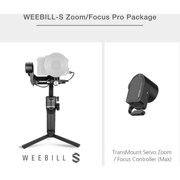Zhiyun-Tech WEEBILL-S - Follow Focus Pack