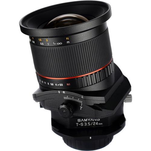 Samyang 24mm F3.5 ED AS UMC Tilt-Shift Lens for Pentax K Mount