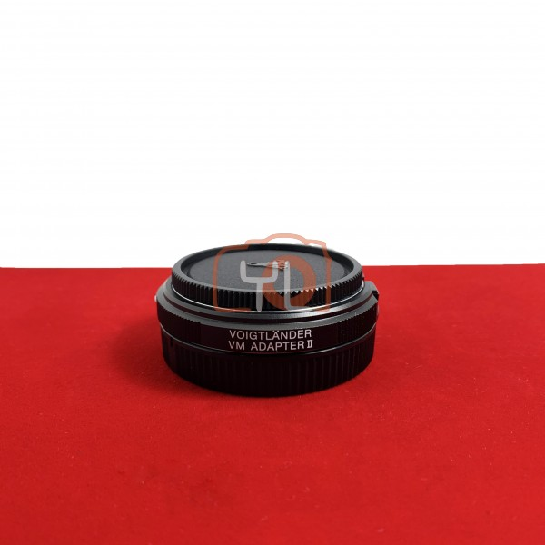 [USED-PJ33] Voigtlander VM Adapter II (M Mount To Sony FE Mount), 95% Like New Condition (S/N:-)