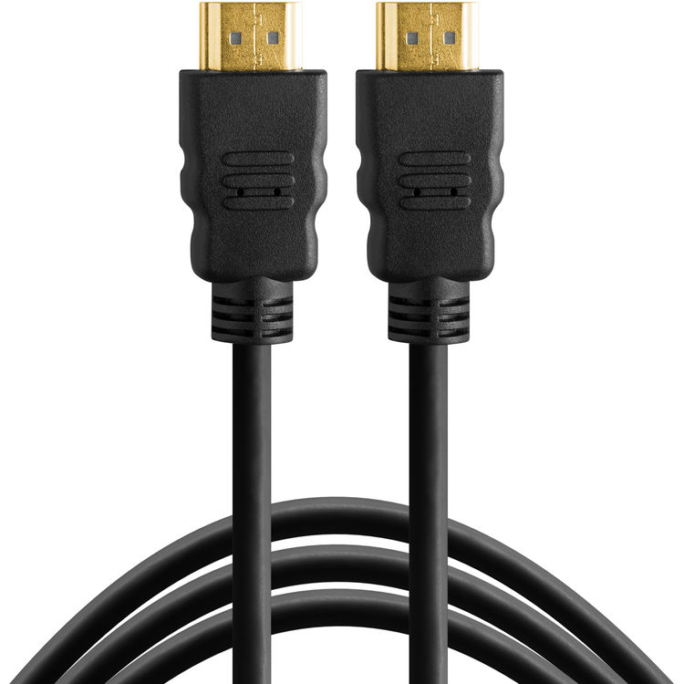 Tether Tools TPHDAA10 TetherPro HDMI Male (Type A) to HDMI Male (Type A) Cable - 10'