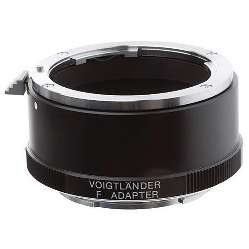 Voigtlander Adapter for Sony E Mount Cameras--Nikon F Mount Lens