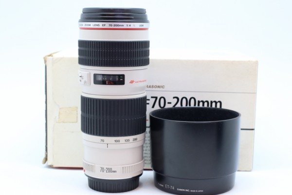 [USED-PUDU] CANON 70-200MM F4 L EF USM 90%LIKE NEW CONDITION SN:273926
