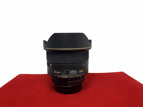 [USED-PJ33] Nikon 14MM F2.8 AFD, 90% Like New Condition (S/N:202966)
