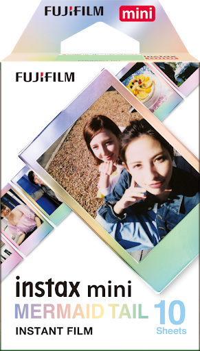Fujifilm INSTAX Mini Instant Films (Mermaid Tail)