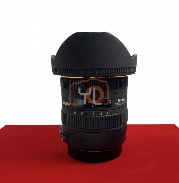 [USED-PJ33] Sigma 10-20MM F3.5 DC EX HSM, 90% Like New Condition (S/N:10937756)