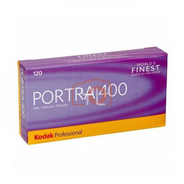 Kodak Professional Portra 400 Color Negative Film (120mm Roll Film, 5 Packs)