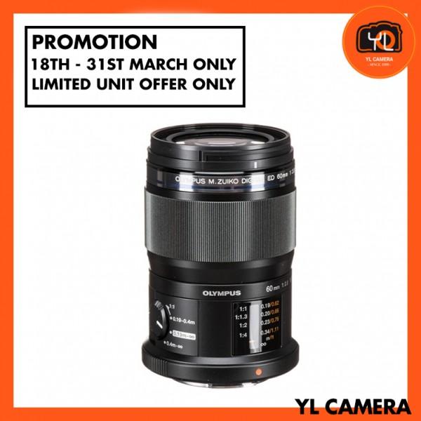 (Promotion) Olympus 60mm F2.8 Macro M.Zuiko Lens