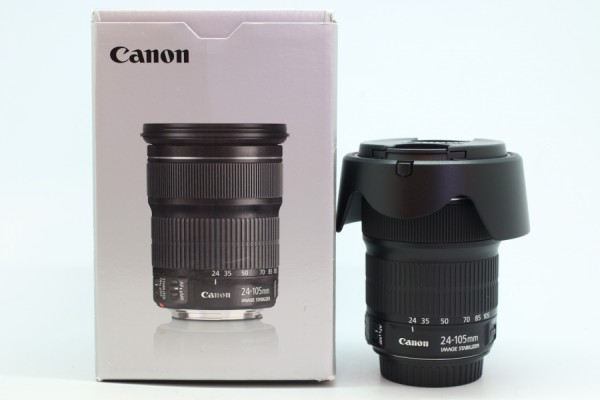 [USED-PUDU] CANON 24-105MM F3.5-5.6 EF STM IS USM 95%LIKE NEW CONDITION SN:2202103101