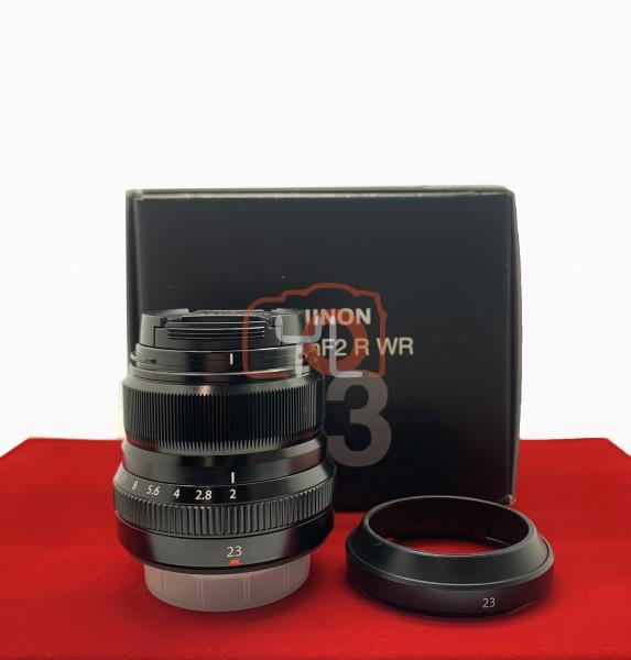 [USED-PJ33] Fujifilm 23mm F2 R WR XF , 90% Like New Condition (S/N:8CB06299)