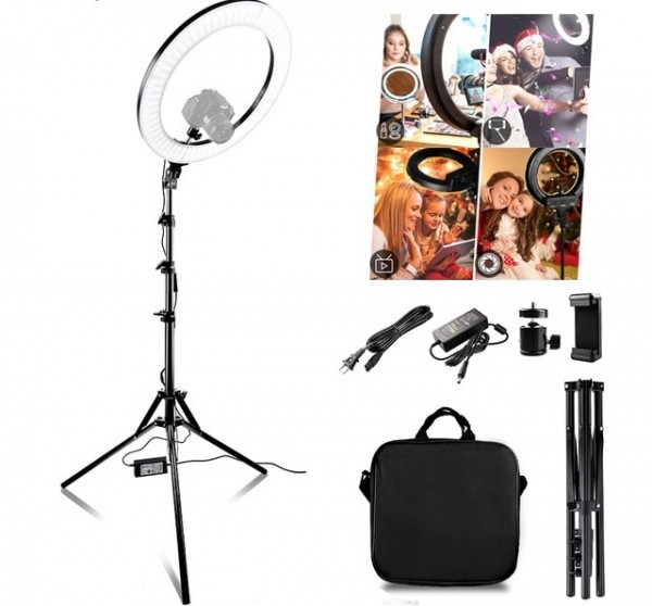 LED 522 Dual Color Ring Light LED Double Side Mirror Kit