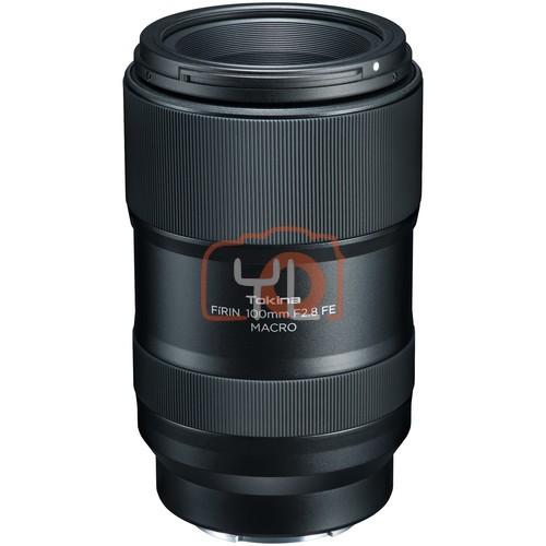Tokina FiRIN 100mm f2.8 FE Macro Lens for Sony E