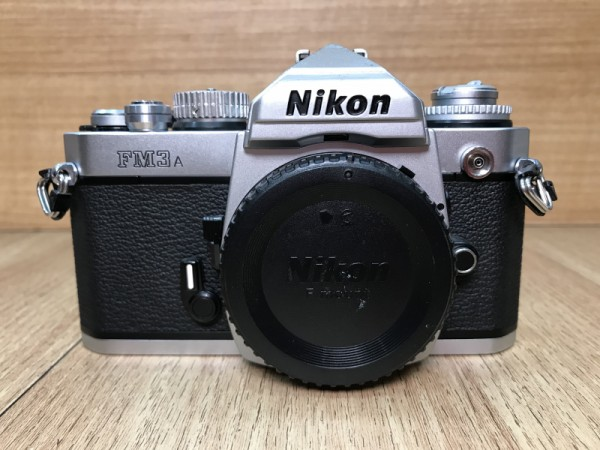 [USED @ YL LOW YAT]-Nikon FM3A Film Camera Body [silver],90% Condition Like New,S/N:291377
