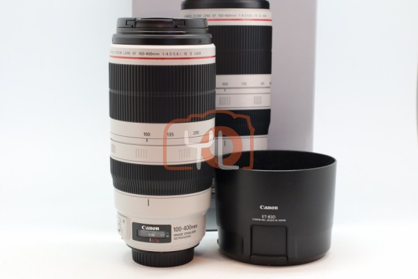 [USED-PUDU] Canon 100-400mm F4.5-5.6 L EF IS II USM 90%LIKE NEW CONDITION SN:2710006392