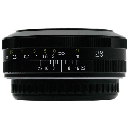 Voigtlander 28mm F2.8 Color Skopar SL II  N Lens (For Canon EF)