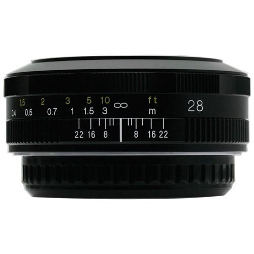 Voigtlander 28mm F2.8 Color Skopar SL II  N Lens (For Canon EF)