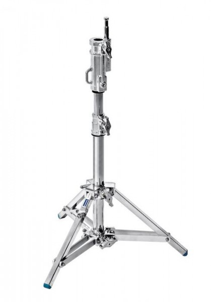 Avenger A1010CS Combo Steel Stand 10 with Leveling Leg (Chrome-plated, 3.3')