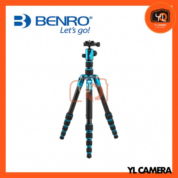 Benro FTR09AB00-BLU Tripster Travel Tripod (0 Series, Blue, Aluminum)