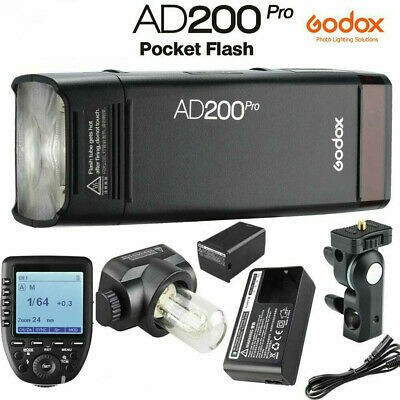 Godox AD200Pro TTL Pocket Flash Kit XPRO-Olympus Combo Set