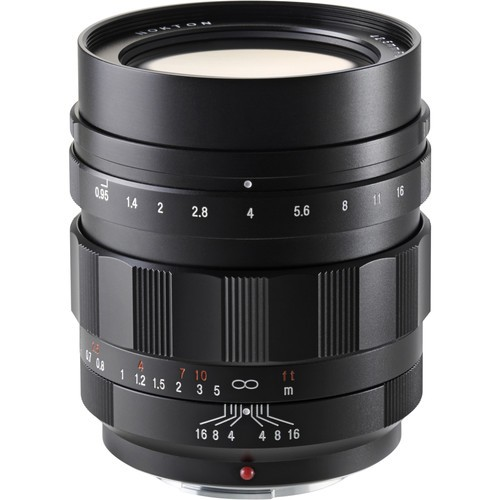 Voigtlander 42.5mm F0.95 Nokton Lens (For Micro Four Thirds)