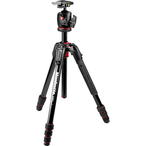 Manfrotto MK190GOA4-BHX 190go! Aluminum M-Series Tripod with MHXPRO-BHQ2 XPRO Ball Head