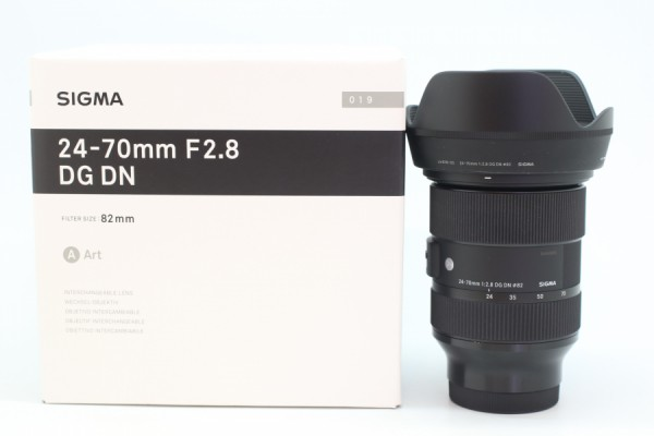 [USED-PUDU] Sigma 24-70mm F2.8 DG DN Art Lens (Sony E-Mount) 99%LIKE NEW CONDITION SN:54345855