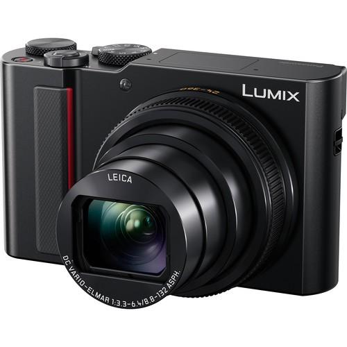 Panasonic Lumix DC-TZ220 Compact Camera (Black) (FREE Extra Battery Redeem Online)