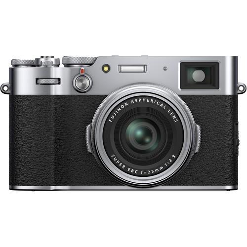Fujifilm X100V - Silver [Free 32GB SD Card]