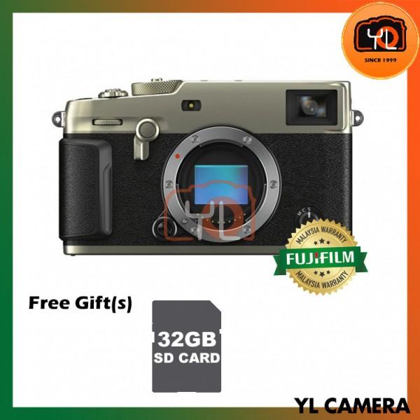 Fujifilm X-Pro 3 - Dura Silver (Free 32GB UHS-II SD Card)