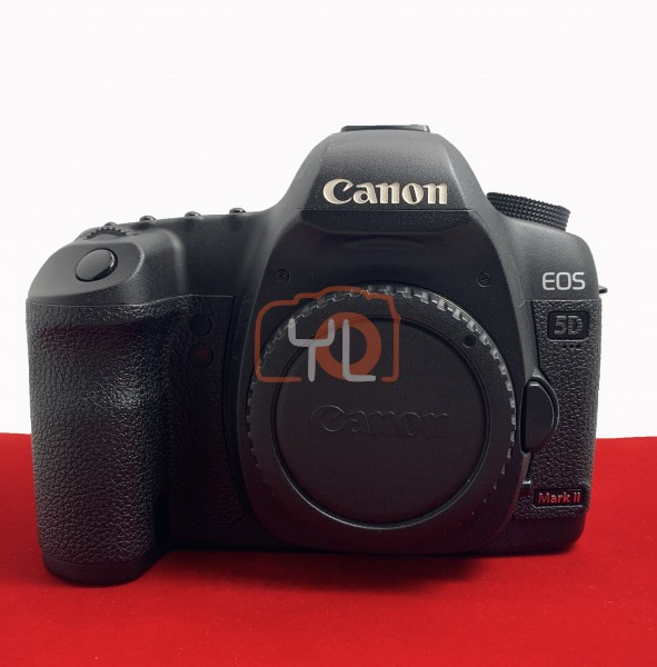 [USED-PJ33] Canon Eos 5D Mark II Body, 90% Like New Condition (S/N:762301119)