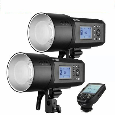 (Per-Ordeo) Godox AD600Pro Witstro All-In-One Outdoor Flash 2 Light XPro-P Fro Pentax Combo Set