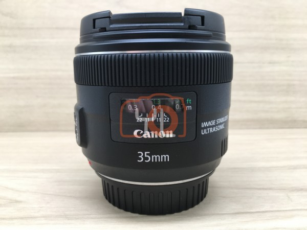 [USED @ YL LOW YAT]-Canon EF 35mm F2 IS USM Lens,90% Condition Like New,S/N:7580000902