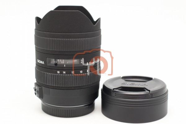 [USED-PUDU] Sigma 8-16mm F4.5-5.6 DC HSM Lens (Canon) 99%LIKE NEW CONDITION SN:10896270