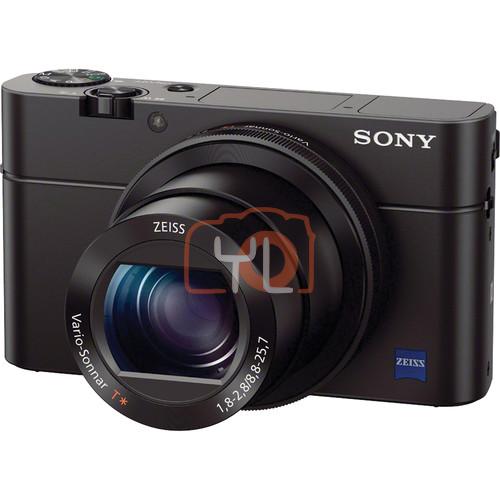 Sony Cyber-shot DSC-RX100 III Digital Camera 16GB SD Card
