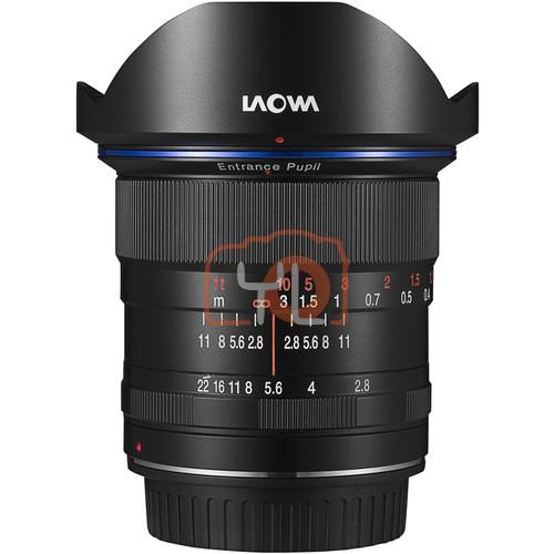 Laowa 12mm f/2.8 Zero-D (Black) Pentax K