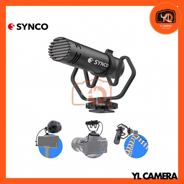 Synco Audio Mic-M1P On-Camera Shotgun Microphone