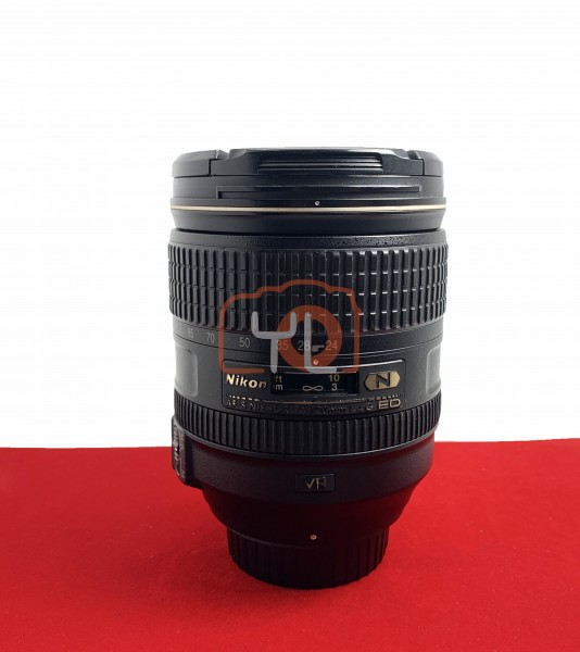 [USED-PJ33] Nikon 24-120MM F4 G AFS VR, 80% Like New Condition (S/N:62006307)