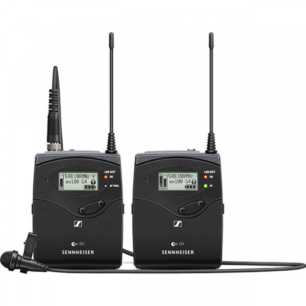 (Special Deal) Sennheiser EW 112P G4 Camera-Mount Wireless Omni Lavalier Microphone System