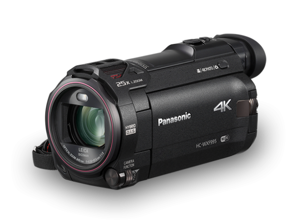 Panasonic HC-WXF995 4K Twin Lens Camcorder (Free 16GB SD Card & Carrying Case)