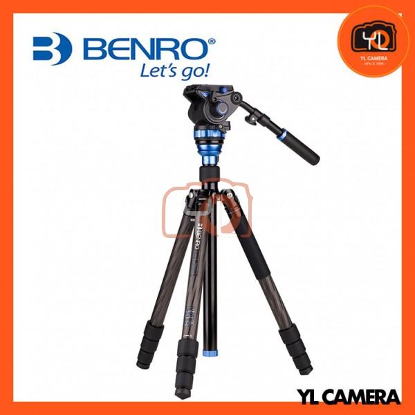 Benro C3883TS7 Aero 7 4 Section Travel Video Carbon Fiber Tripod